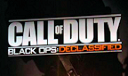 Call Of Duty Black ops Declassified logo vignette 14.08.2012