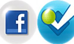 Facebook & foursquare logo vignette 03.04.2012