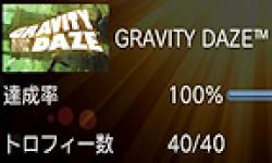 Gravity Rush Daze trophees 100 pour 100 logo vignette 08.02
