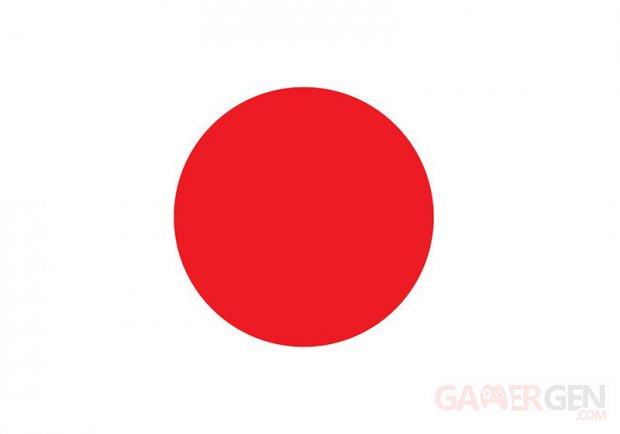 Japon Drapeau 06.01.2012.