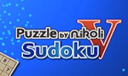 Puzzle Nikoli V Sudoku logo vignette 13.03.2013.